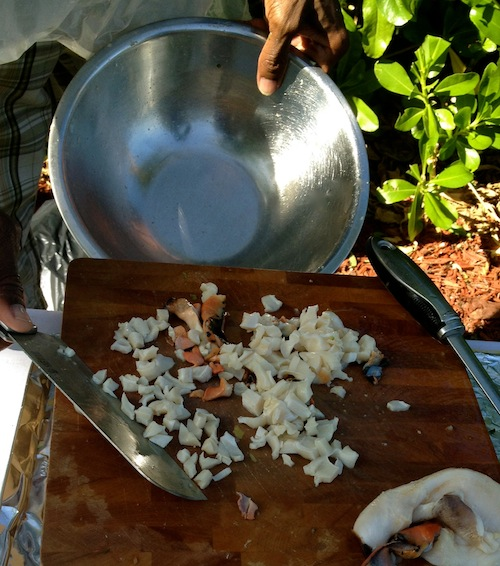 Traditional Conch Salad 8 Nina Cherie Franklin PhD