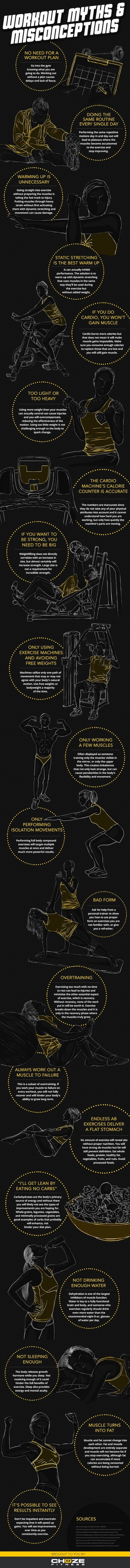 Workout Myths and Misconceptions Nina Cherie Franklin PhD