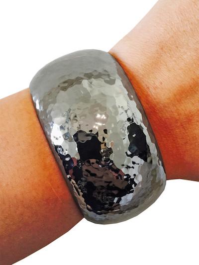brianna hematite fitbit bracelet